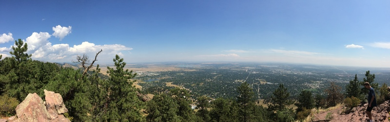Boulder from Mt Sanitas