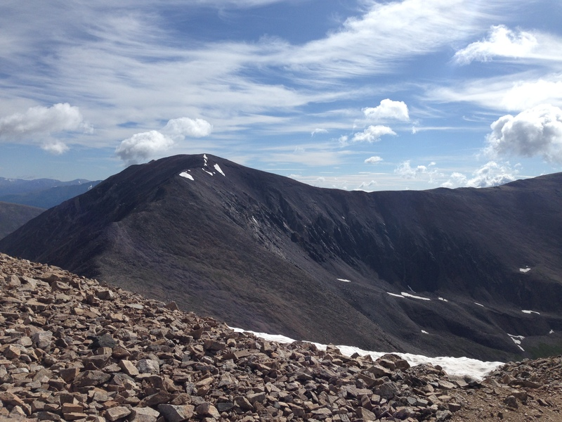 Mt Cameron viewed from the summit of Mt Democrat