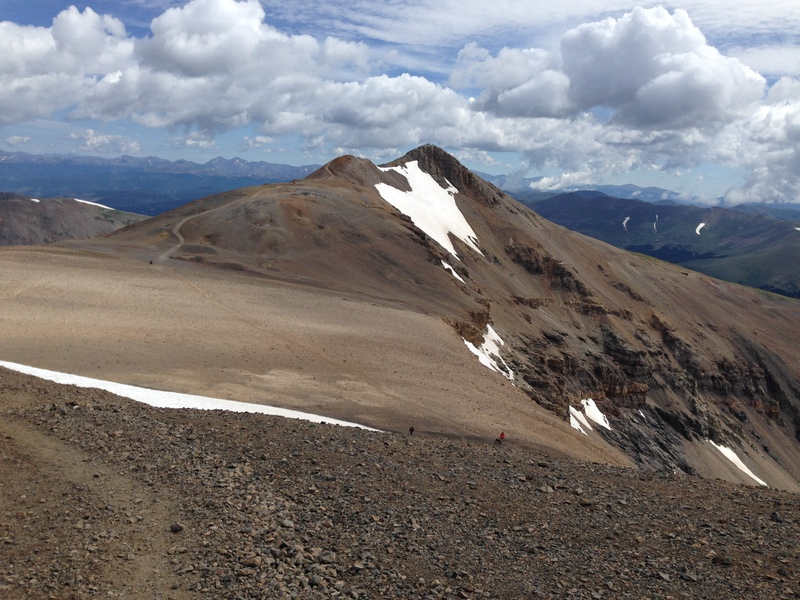 Mt Lincoln viewed from the summit of Mt Cameron