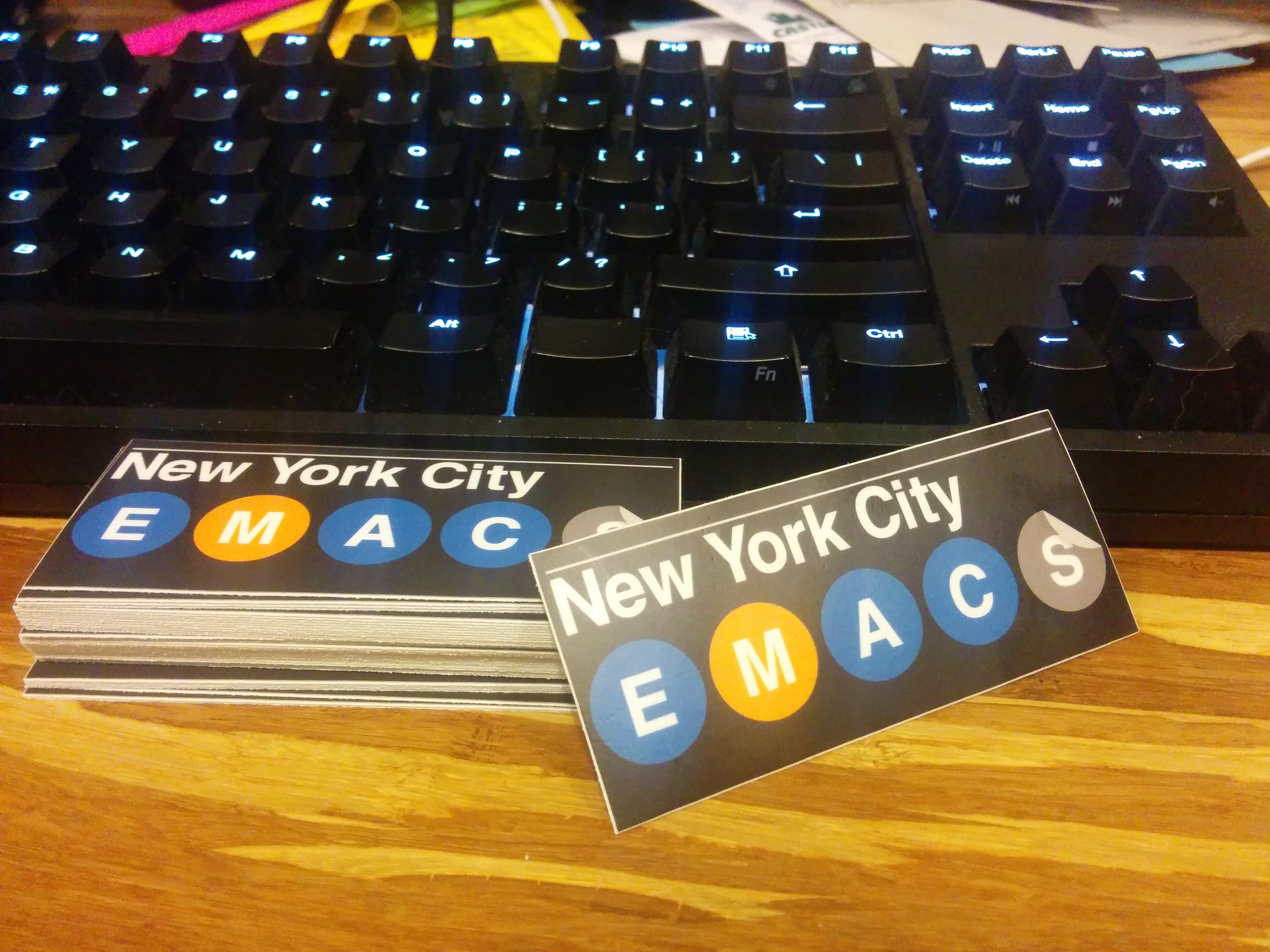 EmacsNYC sticker